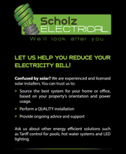 Scholz Electrical Flyer